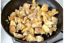 csirkés étel