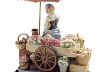 Lladro from Spain / We share LLADRO, hand made figures from Spain. For more info please visit.  http://www.WidenShop.com