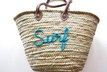 Beach Bags / Straw Tote Bags