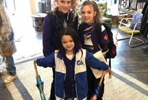 Bohemian Inspired Fashion These little Divas came shopping today in between the dance and cheering convention  #coolmoms