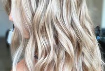 Cool blonde haircolor