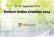 Aussteller der #EOA15 / Alles zu den Ausstellern von Einfach Online Arbeiten 2015 #EOA15