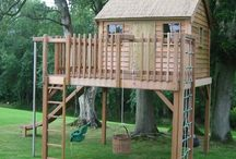 Seb and Flissy treehouse ideas