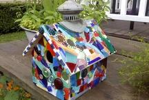 mozaieken vogelhuis