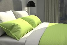 Bright lime & Lime (Bedding)