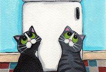 Kedi magnet