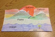 GEOGRAPHY / Visual and/or Kinesthic lessons to learn geography.