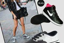 Sneakers ID / Sneakers ID  - Φοριούνται όλη μέρα στην πόλη - Ταιριάζουν με κάθε τύπο γυναίκας - Είναι άνετα παραμένοντας στιλάτα - Οι χρωματικοί τους συνδυασμοί «σπάνε» το μαύρο- άσπρο- γκρι της χειμερινής σεζόν  Διάλεξε το δικό σου! http://goo.gl/E5EjBr