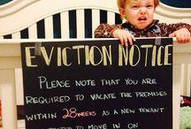 Birth announcement ideas