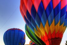 Hot air baloons