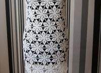 Moda tworzona szydełkiem i na drutach. / Ubrania (sukienki, spódnice, bluzki, czapki, szaliki) tworzone ręcznie szydełkiem i na drutach
