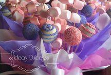 Decorazioni con caramelle
