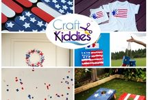 4th of July Crafts / Get Crafty for the 4th of July.