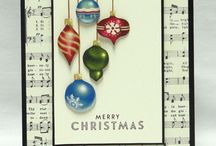 Kerst Stampin' Up! / Kerstkaarten met Stampin' Up! Producten.