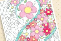 coloring pages - miscellaneous