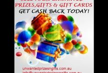 Unwanted Prizes Gifts & Gift cards