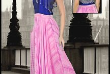 Catalog 2447 Party Wear Gown / Check out Designer Hand work SAIRA Gown.