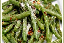 green beans roasted