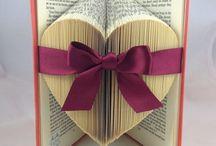 Folding med blade i bøger