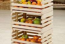 frutero con caja