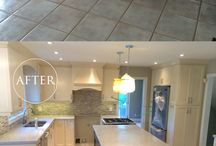 Dream Kitchens / Before and after photos of kitchens transformed by domilya GROUP home renovators.