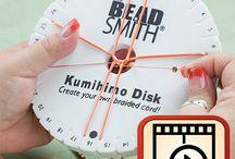 Kumihimo disk