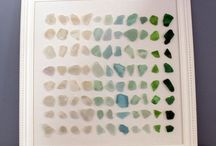 Sea glass pictures