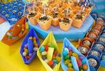 Festa das cores Decoração