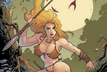 Jungle Girl / Comic book