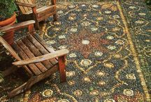 Pebble mozaics