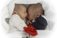 newborn / babyfotografie tweeling