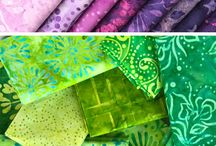 Rainbow Fabric Inspiration
