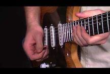 Riff blues guitar