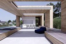 Landscape, terrace, outdoor