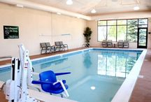 Swimming Pool & Recreation / Swimming Pool and recreation at the Hampton Inn Denver Airport Hotel.