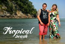 Moda Plus Size -Tropical Beach verão 14 / Campanha tropical beach - verao 14