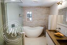 Bathroom Design / Custom Bathroom Design, custom cabinets, vanities and more.