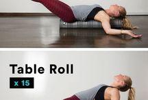 Roll foam / Stretching, Massage, Body Balance,