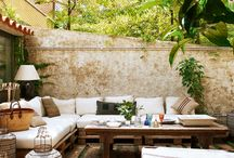 Outdoor Spaces / Every home needs a beautiful outdoor space. Whether it's where you enjoy your breakfast in the sun or you host a BBQ, this space is so versatile. Collect great ideas here of what you can do with your outdoor space.