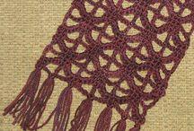 crochet - curtains lace