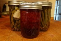 iCan  / Pickling & canning: jams, dilly beans, beets, green beans, pickles, etc.