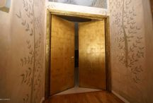 Gold Leaf Door