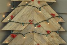 holiday woodwork