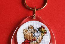 Małe wzorki, Small cross-stitch patterns