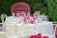 Pink Party - Catering and Events by Peter Rowland Catering / Tailored 'Pink' themed birthday celebration - Designed and styled by Peter Rowland Catering