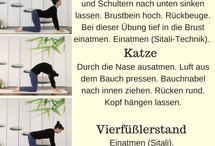 Yoga bei Hitze