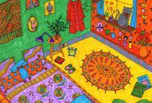 Votate la mia stanza dei colori!