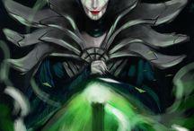 Cybernetic Disney Villains. / A series of digital paintings of Disney villains over 6 weeks.