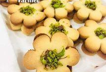 Çiçek kurabiye