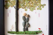 Pebble/Stone Art